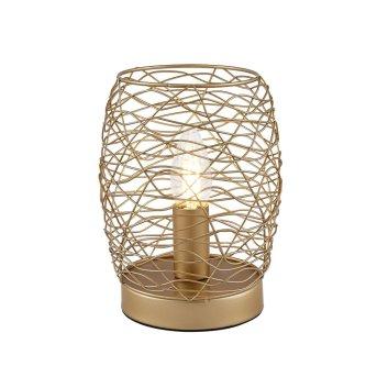 Nino-Leuchten PAU Table lamp Champagne, 1-light source