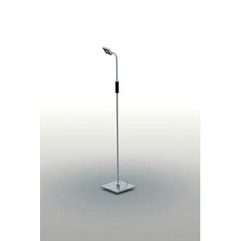 Bopp MOVE Floor Lamp LED aluminium, 1-light source