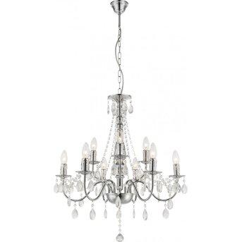 Globo chandelier chrome, 9-light sources