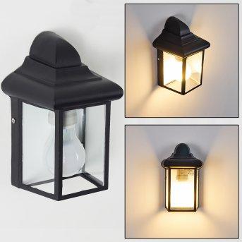 MURTO outdoor wall light black, 1-light source