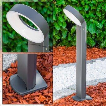MERIDIAN Pedestal Light LED anthracite, 1-light source