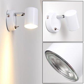 Chennai Wall Light LED chrome, white, 1-light source