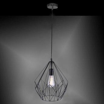 Leuchten-Direkt SKELETTON pendant light black, 1-light source