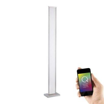 Paul Neuhaus Q-ROSA Floor Lamp LED stainless steel, 1-light source, Remote control