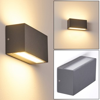 DULUTH Outdoor Wall Light LED anthracite, 1-light source