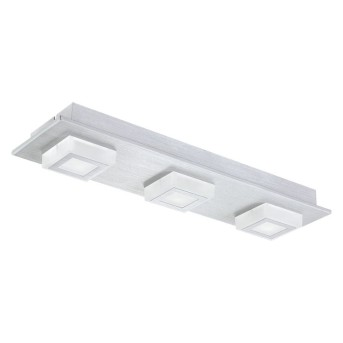 Eglo MASIANO wall and ceiling light LED aluminium, 3-light sources