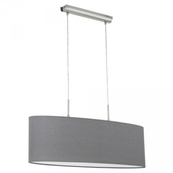 Eglo PASTERI hanging light matt nickel, 2-light sources