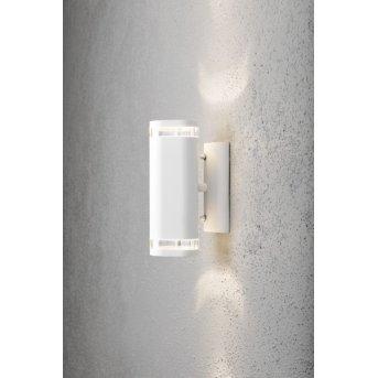 Konstsmide MODENA wall light white, 2-light sources