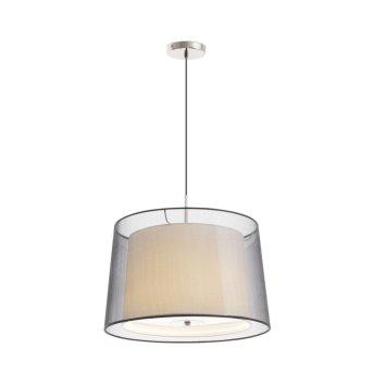 Faro Saba pendant light matt nickel, 3-light sources