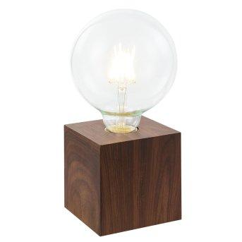 Nino Leuchten LEONIE Table Lamp Dark wood, 1-light source