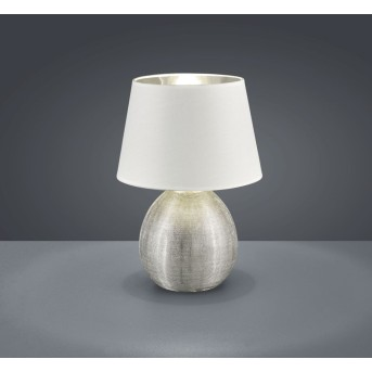 Reality LUXOR table lamp silver, 1-light source