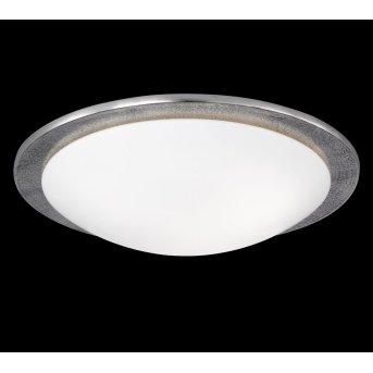 Honsel SHINE ALU ceiling light matt nickel, 3-light sources