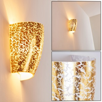 SEVERO Wall Light gold, 1-light source