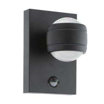 Eglo SESIMBA 1 Wall Light LED black, 2-light sources, Motion sensor