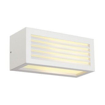 Outdoor Wall Light SLV BOX white, 1-light source