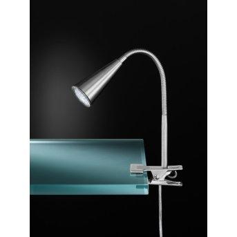 Wofi ARCOS Table Lamp matt nickel, 1-light source