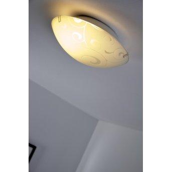 Globo BIKE ceiling light white, 1-light source