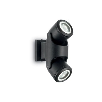 Ideal Lux XENO Outdoor Wall Light black, 2-light sources