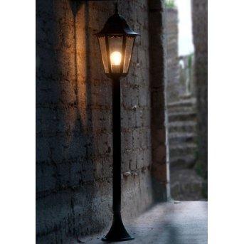 Lutec BRISTOL path light black, 1-light source