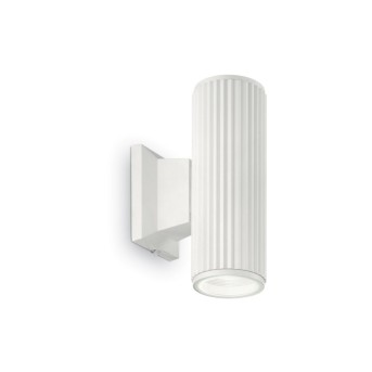 Ideal Lux BASE Wall Light white, 2-light sources