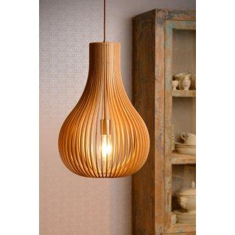 Lucide BODO hanging light brown, 1-light source