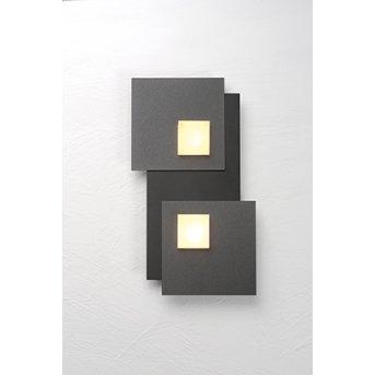 Bopp PIXEL Ceiling light LED black, 2-light sources