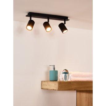 Ceiling Spotlight Lucide LENNERT LED black, 3-light sources