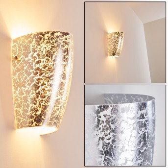 SEVERO Wall Light silver, 1-light source