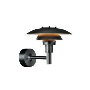Louis Poulsen Outdoor Wall Light black, 1-light source