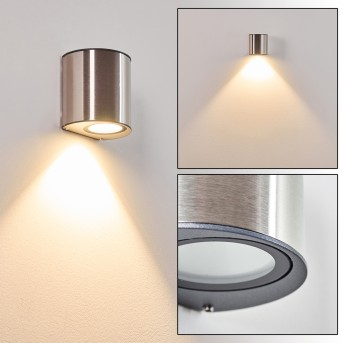 VANO outdoor wall light LED stainless steel, 1-light source