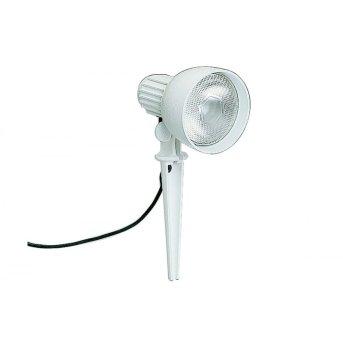 Albert 2123 garden spotlight white, 1-light source