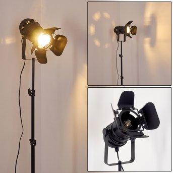 LICHINGA Floor Lamp black, 1-light source