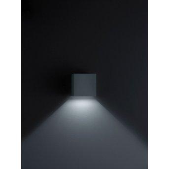 Helestra SIRI 44 Wall Light LED black, 1-light source