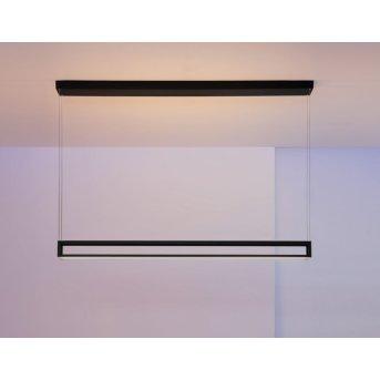 Escale AKIO pendant light LED black, 2-light sources