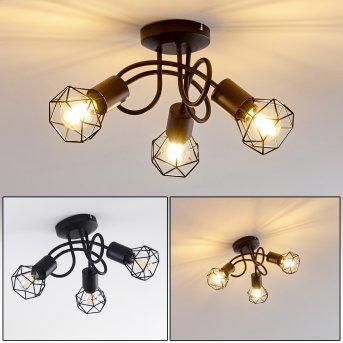 Baripada Ceiling Light black, 3-light sources