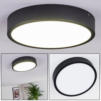 KRAGOS Ceiling Light LED black, 1-light source