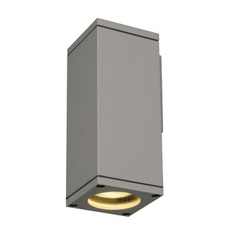 Outdoor Wall Light SLV THEO grey, silver, 1-light source
