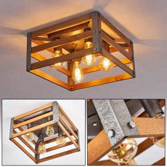 Mallard Ceiling Light silver, 4-light sources