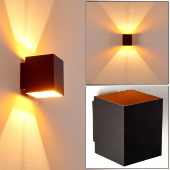 Laforsen Wall Light black-gold, 1-light source