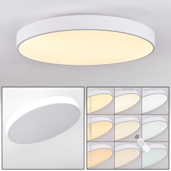 PLOVDIV Ceiling Light LED white, 1-light source, Remote control