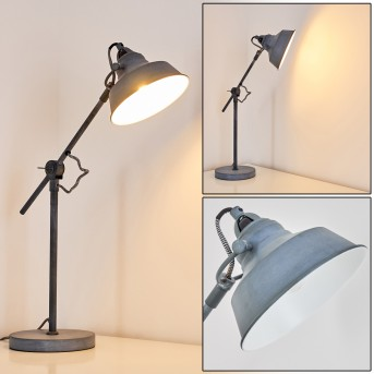 Luven Table Lamp grey, 1-light source