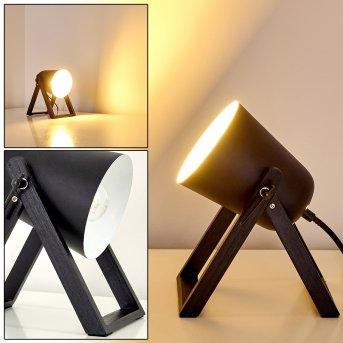 Novilly Table Lamp black, 1-light source