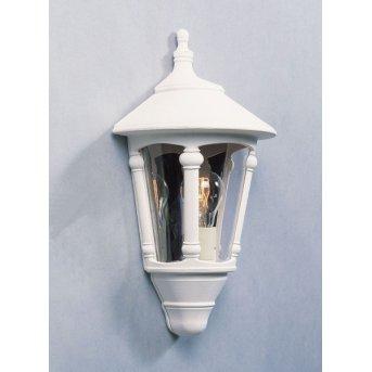 Konstsmide Virgo wall light white, 1-light source