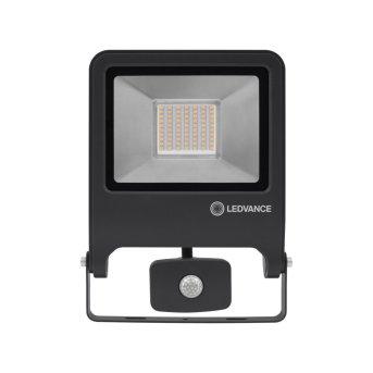 LEDVANCE POLYBAR Outdoor Wall Light grey, 1-light source, Motion sensor