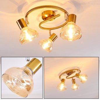 ESBERG Ceiling light gold, 3-light sources