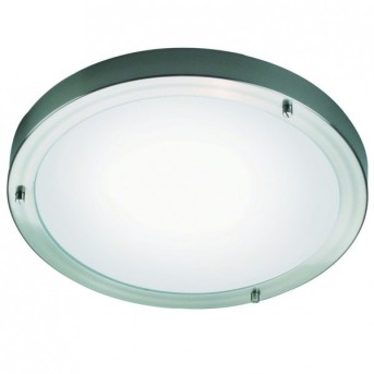Nordlux ANCONA ceiling light stainless steel, 2-light sources