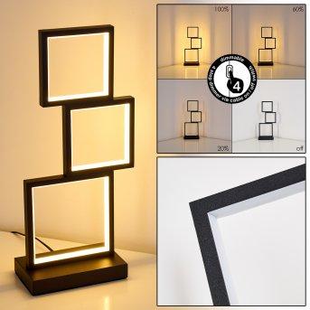Bacolod Table lamp LED black, 1-light source