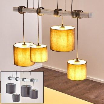 Bramois Pendant Light grey, 4-light sources