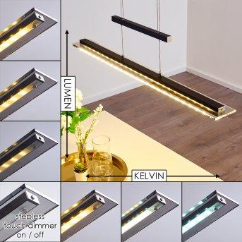 Junsele Pendant Light LED black, 1-light source
