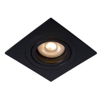 Lucide TUBE Recessed Spotlight black, 1-light source